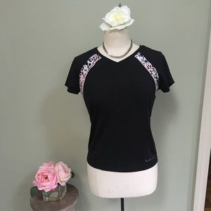 LuLu Athletic Vneck Top